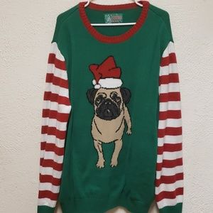 Other - Ugly Christmas Sweater Pug Edition